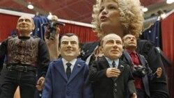 در انتخابات ساختگی روسيه عروسکی بنام سوپرپاپس برنده شد