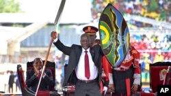Le président tanzanien John Pombe Magufuli, Dar Es Salaam, 5 novembre 2015