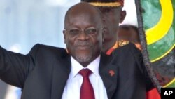 Shugaban Tanzania John Magufuli