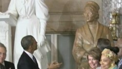 US Civil Rights Pioneer Honored With Capitol Hill Statue