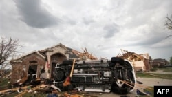 Several tornadoes hit the Dallas-Fort Worth area of Texas last week, causing heavy damage but no deaths
