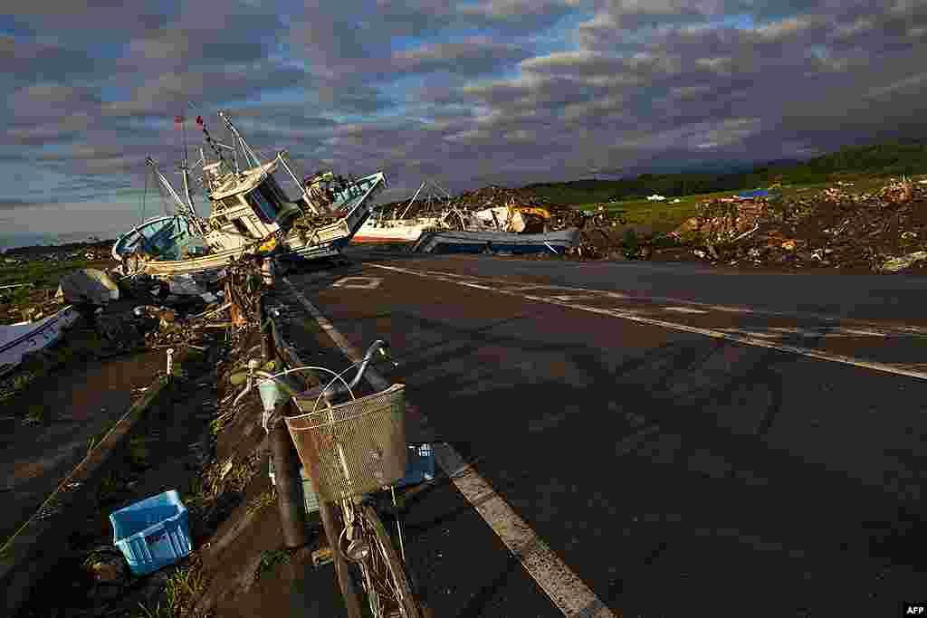 Город Намие находится внутри 20-километровой зоны отчуждения. 24 июля 2011 г.