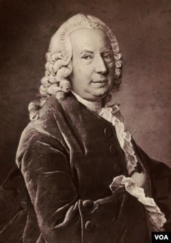 Chân dung Daniel Bernouilli, lưu giữ tại thư viện đại học ETH Zurich, Thụy Sĩ.