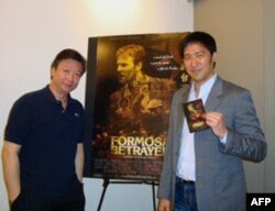 被出卖的台湾电影主角刁毓能(右)及配角马泰