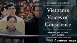 Buổi tường trình tại trụ sở Quốc hội Mỹ diễn ra từ 3-4 giờ chiều ngày 11/6 (giờ thủ đô Washington) do các đồng chủ tịch trong Nhóm làm việc về Việt Nam tại Hạ viện Mỹ (Vietnam Caucus) chủ trì.