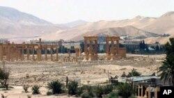 Le site de Palmyre (SANA via AP, File)