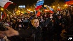 Севастополь, Крым, 17 марта 2014г.