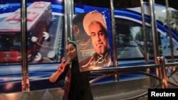 Tổng thống tân cử Iran, ông Hassan Rowhani.