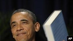 奥巴马总统2月2日在华盛顿举行的早餐祈祷会上