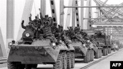 Вывод советских войск из Афганистана. Советско-афганская граница. 15 февраля 1989 года