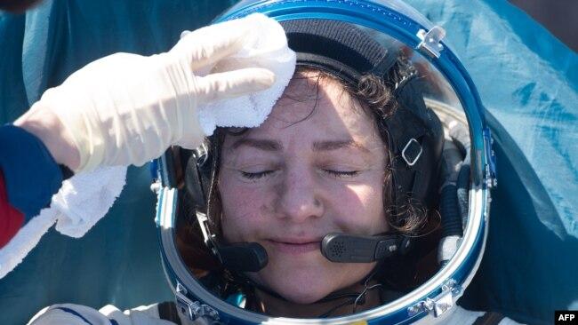 Astronautja e NASA-s Jessica Meir.