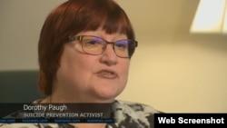 Nhà hoạt động ngăn ngừa tự tử Dorothy Paugh.