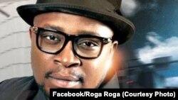 L'artiste congolais Roga Roga, 12 janvier 2018. (Facebook/Roga Roga)