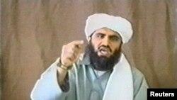 Abu Geit na jednom od video snimaka u svojstvu portparola al-Kaide