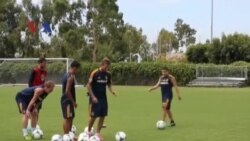 David Beckham Berlatih dengan Klub Lamanya LA Galaxy