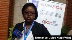 Madeleine Mballa Ebengue, à Yaoundé, Cameroun, le 29 juillet 2019. (VOA/Emmanuel Jules Ntap)