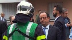 ျပင္သစ္ဘုရားေက်ာင္း IS တိုက္ခိုက္မႈ သမၼတ Hollande တံု႔ျပန္