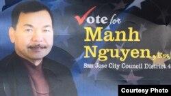 Ứng cử viên Mạnh Nguyễn