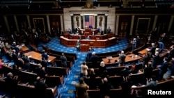 В Палате представителей после возобновления сорванного сторонниками Трампа совместного заседания 6 января 2021