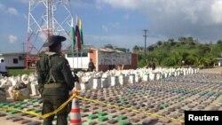 """La droga pertenecía a la mayor banda criminal del país conocida como el """"Clan Úsuga""""."""