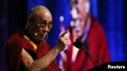 티베트의 정신적 지도자인 달라이 라마. (자료사진)