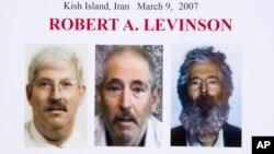 آقای لوینسون سال ۲۰۰۷ در جزیره کیش در ایران ناپدید شد