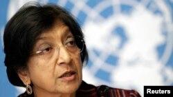 BM İnsan Hakları Komisyonu Başkanı Navi Pillay