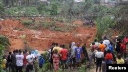آئیوری کوسٹ میں لینڈ سلائیڈنگ سے کئی مکان دب گئے۔ 18 جون 2020