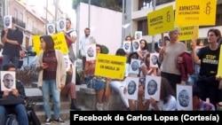 Vigília em Lisboa pede libertação de activistas angolanos