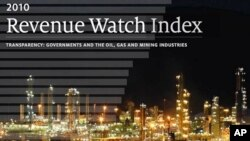 The Revenue Watch Index report wants to help citizens get accountability from resource-rich governments.