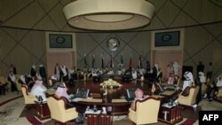 Заседание министров иностранных дел Совета по сотрудничеству стран Персидского залива в Эр-Рияде