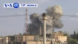 Syria: Rebels take aim at government jets attacking town of Ras al-Ain near border with Turkey.