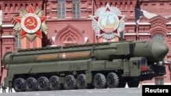 러시아의 대륙간 탄도미사일 야르스 RS-24. (자료사진)
