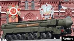 مانور نظامی در میدان سرخ مسکو - مه ۲۰۱۵
