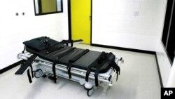 Kamar untuk eksekusi hukuman mati di penjara Jackson, negara bagian Georgia (foto: ilustrasi).