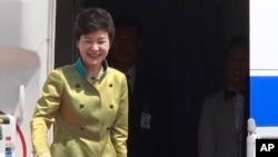 韓國總統朴槿惠展開訪問美國之行。