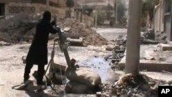 Pripadnih pobunjeničkih snaga u Damasku