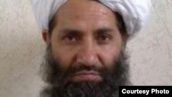 A photo circulated by the Taliban of new leader Mawlawi Haibatullah Akhundzada.