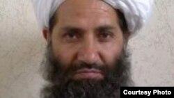 Haibatullah Akhundzada, successeur du mollah Mansour. (Photo distribuée par les talibans afghans)