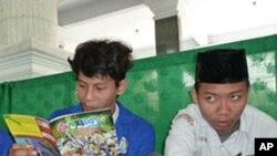 อินโดนีเซียส่งเสริมแนวคิดไม่ฝักใฝ่ความรุนแรงทางศาสนาผ่านการ์ตูนชีวิตจริงชาวมุสลิม