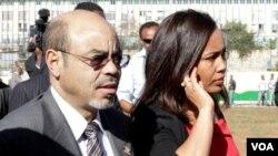 Meles Zenawi & Azeb Mesfin