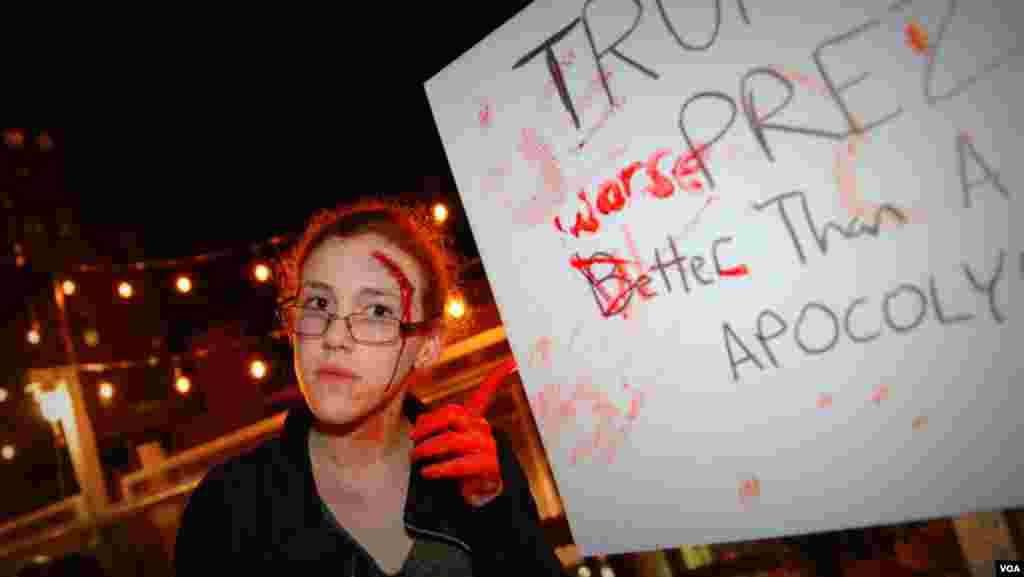 Зомби и политические лозунги