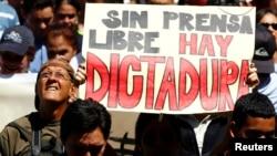 Suman los reclamos por el respeto a la libertad de prensa en Venezuela.
