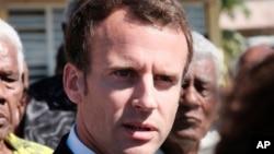 法國總統馬克龍民眾支持率降至2017年選舉以來最低點