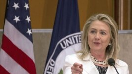 Secretary of State Hillary Clinton, July 25, 2012.