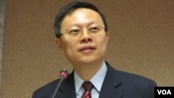 台灣陸委會主委 王郁琦(美國之音 張永泰拍攝)
