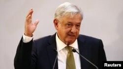 墨西哥總統奧夫拉多爾。