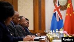 斐济外交部代表团2019年6月访问北京(路透社 )