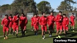 بازیکنان دعوت شده در تیم ملی فوتبال افغانستان به شهر انتالیای ترکیه