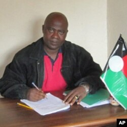 Adolose Mango, dirigente do PRS no Huambo